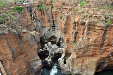Bourkes Luck Potholes in the Blyde river, Mpumalanga, South Africa