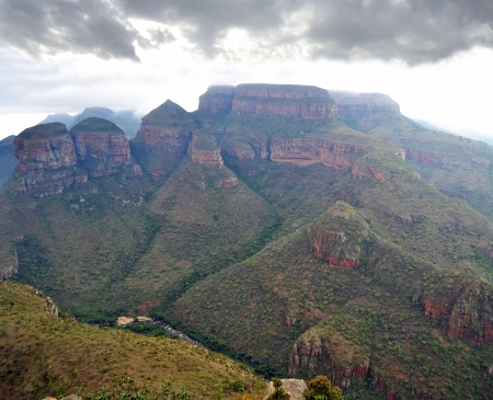 Blyde River Canyon landscape, Drakensberg, South Africa