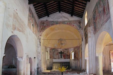 xv century: XV century Sant Alessandro Church, Italy