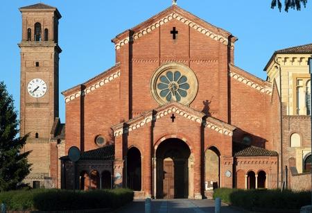 piacenza: Abad�a del siglo XII en Alseno, Piacenza, Italia