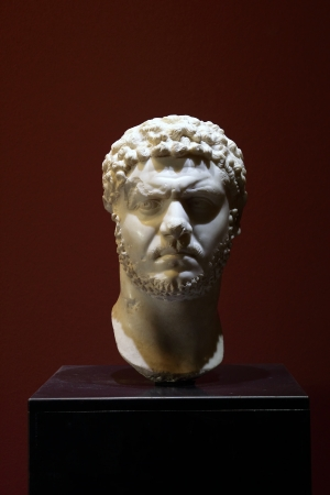 Portrait head of Emperor Marcus Aurelius Severus Antoninus Augustus, called Caracalla