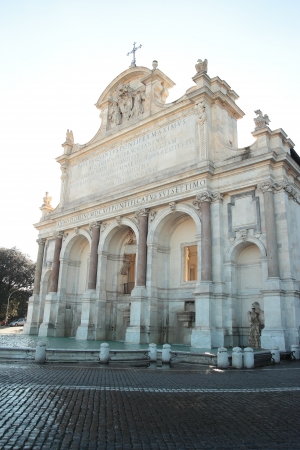 Fontana dell Acqua Paola , Rome Stock Photo - 16943057
