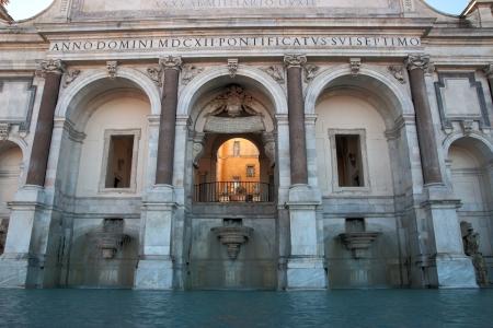 Fontana dell Acqua Paola , Rome