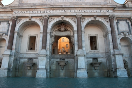 Fontana dell Acqua Paola , Rome Stock Photo - 16939589