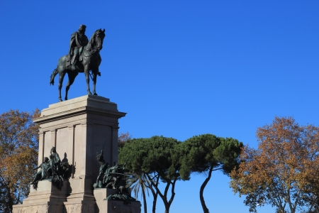 Garibaldi memorial statue in Rome, Italy Stock Photo - 16939519
