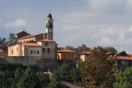 seventeenth-century church in Bogogno, Piedmont, Italy