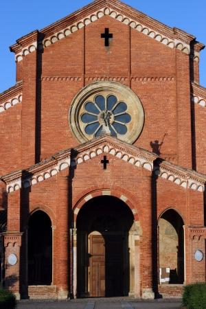 piacenza: ancient XII Cistercians abbey in Alseno, Piacenza, Italy