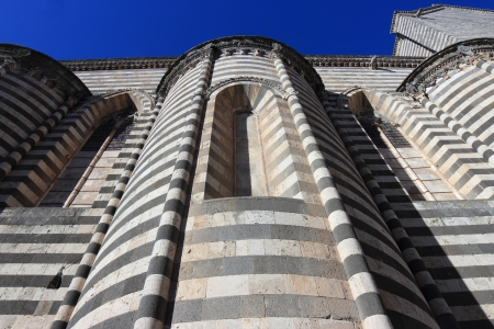 etrurian: Cathedral detail in Orvieto, Umbria Italy