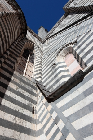 tuscia: Cathedral detail in Orvieto, Umbria Italy