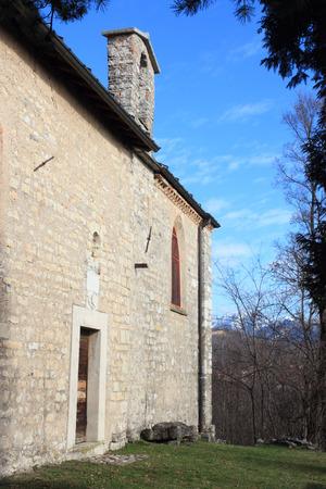 martino: ancient church of San Martino, Viggiu, Italy