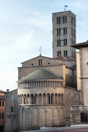 st. Maria church in Arezzo, Tuscany, Italy
