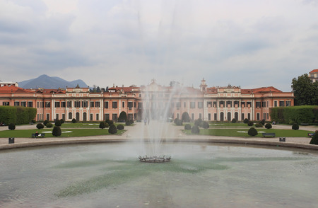 Fountain in Palazzo Estense, town hall of Varese