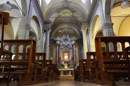 nave: Bocca di Rio, religious complex in Castiglione dei Pepoli, Italy Editorial