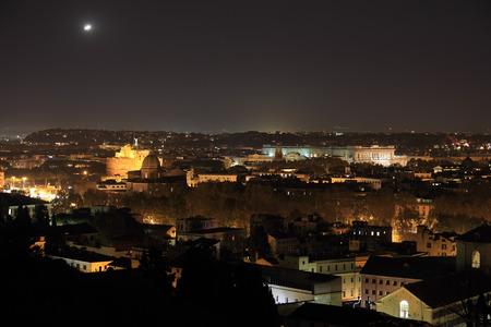 unidentified: objeto no identificado que volaba sobre Roma en la noche Editorial