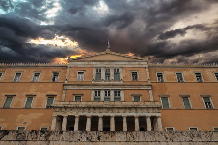 capital cities: Parliament Building at Capital Cities Athens Greece