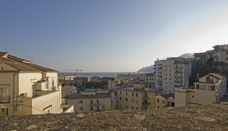 minerva: sea overview from Minerva Gardens, Salerno, Italy