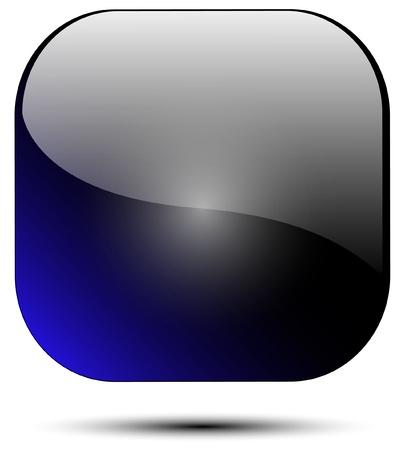 icona blu Vettoriali
