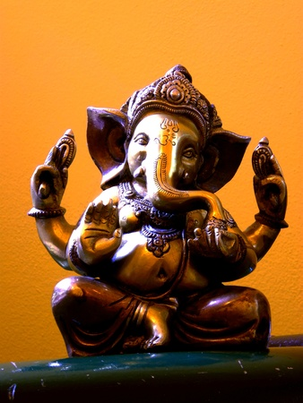 idol: ganesha Stock Photo