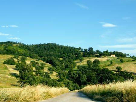 appennino: umbria s hills Stock Photo