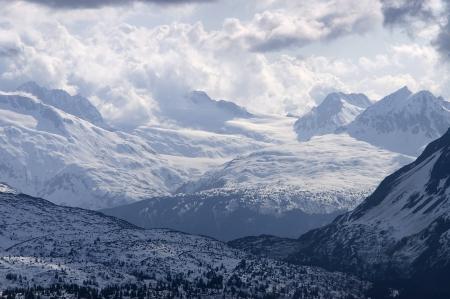 Mountain Valley in Alaska Stock Photo - 16460949