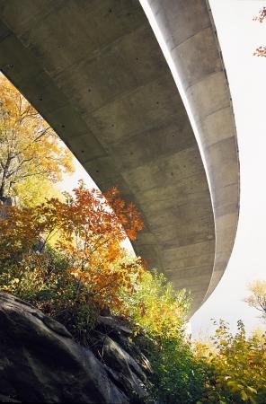 blue ridge: The Blue Ridge Parkway Viaduct from below