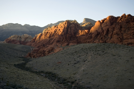 Rock Formations in Red Rock Canyon, Nevada Stock Photo - 18704754