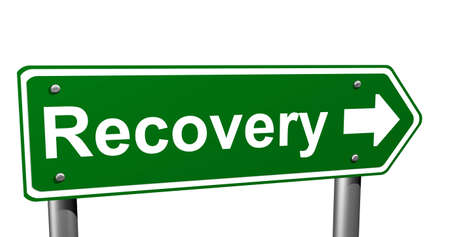 Road to Recovery? Stock Photo - 8353354