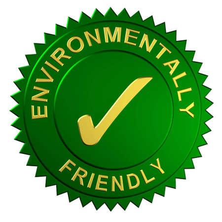 environmentally friendly: Environmentally Friendly Seal