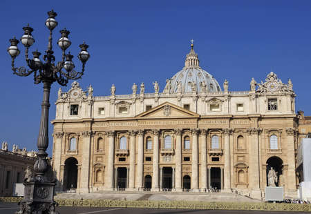 Saint Peter s Basilica, Vatican City, Rome, Italy Editorial