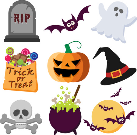 A Set of Halloween Icons