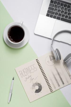 Business ideas, creativity, inspiration and start up concepts Stok Fotoğraf - 94757948
