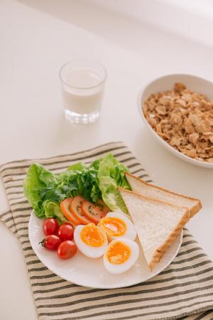Various ways of cooking chicken eggs. Breakfast with eggs. Reklamní fotografie