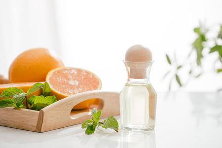 Citrus oil natural orange Vitamin C Archivio Fotografico - 115371939