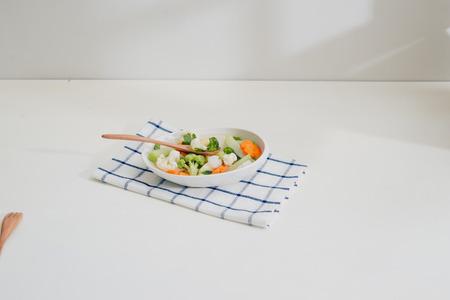 Healthy food. Vegetable mix. Studio Photo