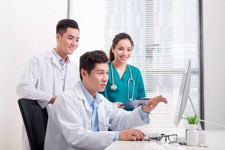Team of doctors working together Reklamní fotografie