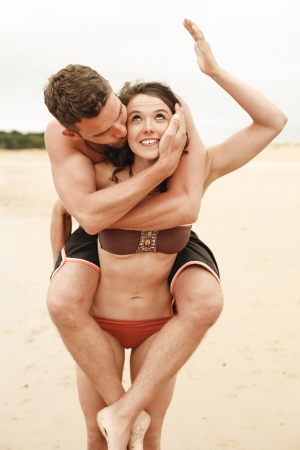 Couple on the beach 12 photo