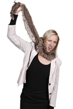 unsuccessfully: Woman hanged herself Stock Photo