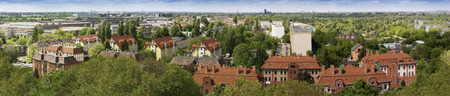 Panorama of Magdeburg  photo