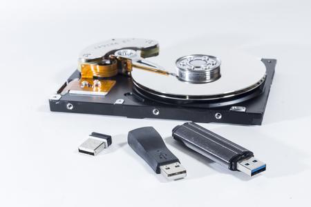 inaccessible: data storage Stock Photo