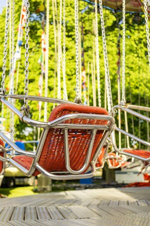 chain swing ride: Chairoplane