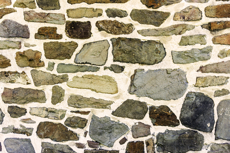 solid: Background of old vintage stone wall