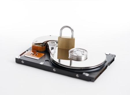 disco duro: Dentro de un disco duro