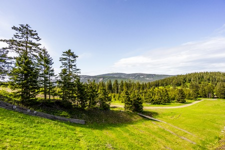 Mountain Brocken in Harz, Germany Stock Photo