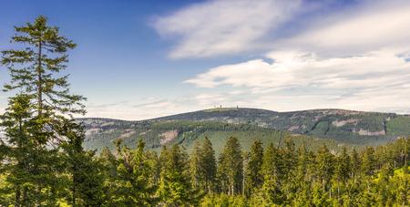 Mountain Brocken in Harz, Germany Stock Photo