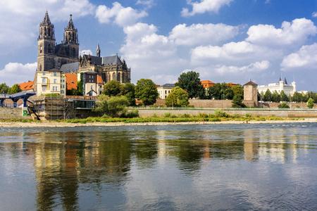 Magdeburg, captital city in Saxony Anhalt, Germany