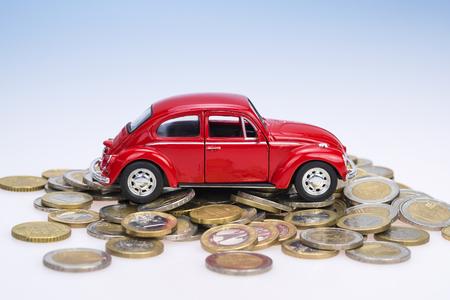 pushcart: Buy a Car Stock Photo