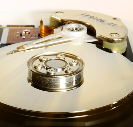 hard disk: Inside of a harddirve
