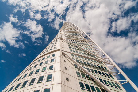 twisty: Looking up at the famous Turning Torso