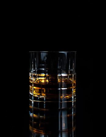 in low spirits: Low key whiskey glass