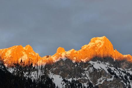 Glowing Mountain